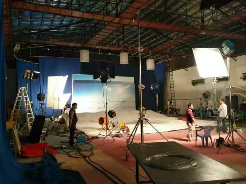 shooting film studio lighting