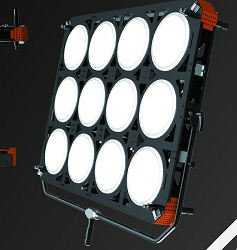 Film lighting 1200W kit